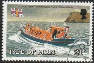 Isle Of Man, #464 Used From 1991
