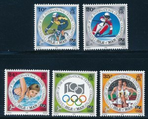 Isle of Man - Centenary of the Modern Olympic Games Sports Set (1994-96)