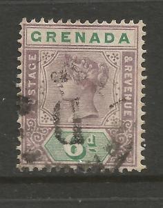 GRENADA 1895  6d   QV  GU    SG 53