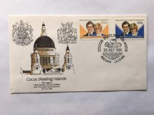 Cocos (Keeling) Islands – 1981 –Official First Day Cover – SC# 73 & 74