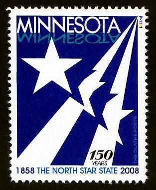 Minnesota Sesquicentennial Commemorative - Cinderella - MNH