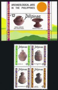 Philippines #2363-64 artifacts MNH