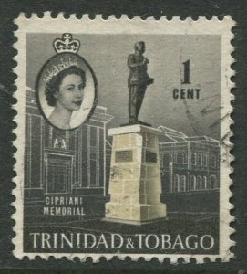 STAMP STATION PERTH Trinidad & Tobago #89 QEII Pictorial Definitive Used 1960