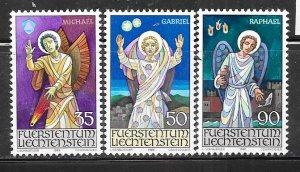 Liechtenstein #855-857  Christmas 1986  (MNH)  CV $2.35