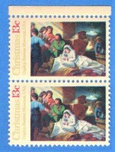 USA SC# 1701 MNH  13c 1977 PAIR   CHRISTMAS   SEE SCAN