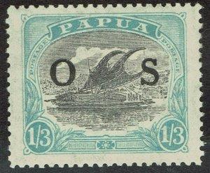 PAPUA 1931 LAKATOI OS 1/3 MNH **