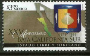 MEXICO 2162, Baja California Sur Statehood 25th Anniversary. MINT, NH. VF.