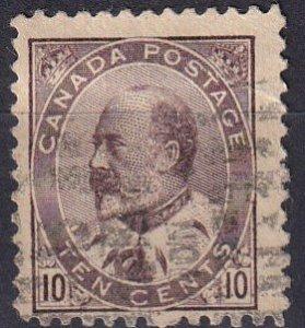 Canada #93 F-VF  Used  CV $15.00 (Z3854)