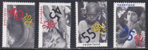 Netherlands # B556-559 & B558a, International Year of the Child, NH, 1/2 Cat