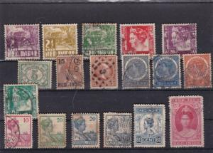 NETHERLANDS  STAMPS ON  STOCK CARD  REF R832