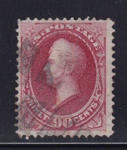 191 F-VF used neat cancel nice color cv $ 350 ! see pic !