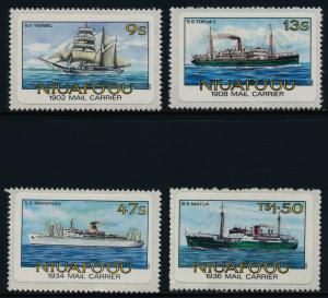 Tonga - Niuafo'ou 56-9 MNH Mail Ships