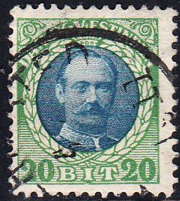 Danish West Indies #46 Used