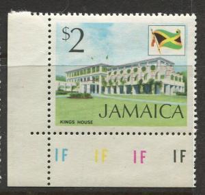 Jamaica - Scott 357 - QEII Definitive -1972 - MNH - Single $2.00c Stamp