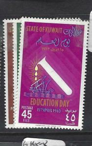 KUWAIT  (PP0205B)   EDUCATION DAY  SG 188-190   MNH