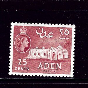 Aden 51a MLH 1956 issue
