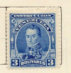 Venezuela 1904-09 Early Issue Fine Mint Hinged 3B. NW-114547