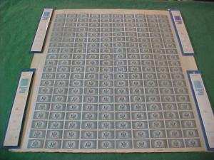 USA 771 MNH, NGAI SHEET OF 200