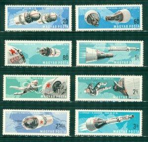 R4-0018 HUNGARY 1803-10 MNH SPACE SCV $2.85 BIN  $1.85  (8)