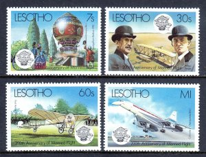 Lesotho - Scott #403-406 - MNH - SCV $4.05