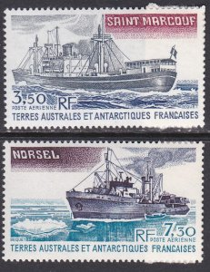 French Southern & Antarctic Territory Sc #C62-C63 MNH