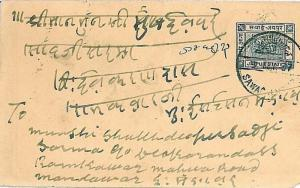POSTAL STATIONERY: INDIA: JAIPUR STATE - H&G #6