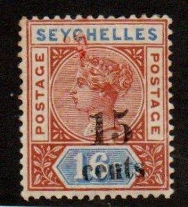 Seychelles 24 Mint Hinged