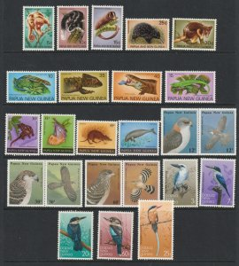 Papua N.G. x 8 mostly MNH sets