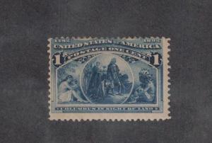 Scott 230 - Columbian 1 Cent.  MNH. OG.  #02 220MNH
