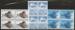 Australian Antarctic Territory Blk/4 nh [ggh33]