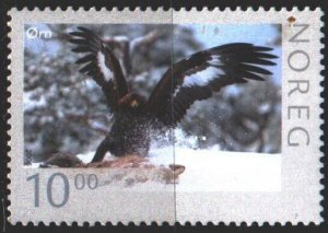 Norway. 2006. 1575 from the series. Eagle, birds. MVLH.