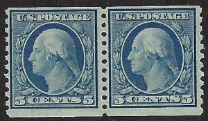 US Scott #496 Mint Pair NH OG F-VF