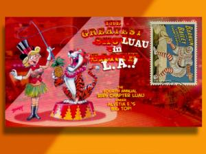 Do Tigers Eat Pineapples? Ries Chapter Luau Goes to the Circus on 2014 Cover!