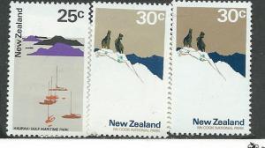 New Zealand #454 &455 shades (MNH) CV3.05