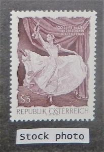 Austria 786a. 1967 CBallet, Blue Danube, perf. 12, NH