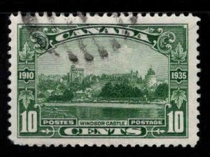 CANADA Scott 215 Used Windsor Castle stamp