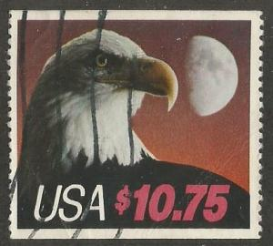 U.S. Scott #2122 $10.75 Bald Eagle Stamp - Used Single