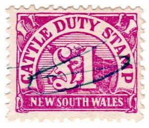 (I.B) Australia - NSW Revenue : Cattle Duty £1