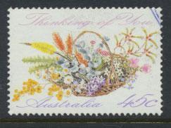 Australia SG 1318  Used - Greetings - Flowers