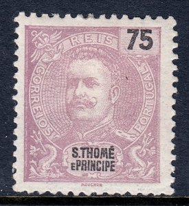 St. Thomas and Prince Islands - Scott #51 - MH - SCV $2.50