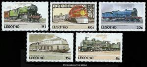 Lesotho Scott 453-457 Mint never hinged.