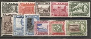 Malaya Trengganu 75-85 19557-63 Views set NH
