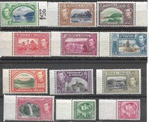 Doyle's_Stamps: 1938-1941 NH Trinidad & Tobago King George VI Postage Stamp Lot