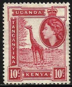 Kenya Uganda Tanzania 1954 Scott# 104 Used