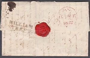 GB SCOTLAND 1832 entire to Inverness - WILLIAM / STREET namestamp..........54035