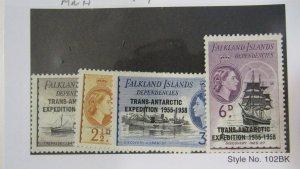 Falkland Is 1L34-37 MNH