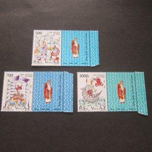 Vatican 1987 Sc 803-5 set MNH
