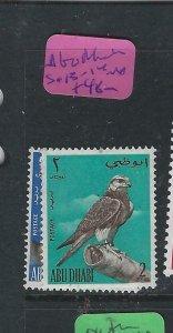 ABU DHABI  (P1202BB)  FALCON SG 13-4   MNH