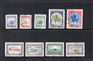 Greenland #10-18,   VF/XF, Used, CV $382.50 ....2510002