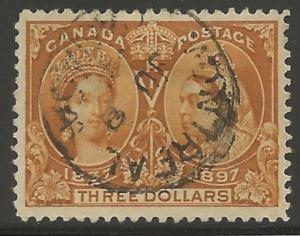 Canada #63 USED XF SELECT Jubilee -- SON CDS Cancel RRR